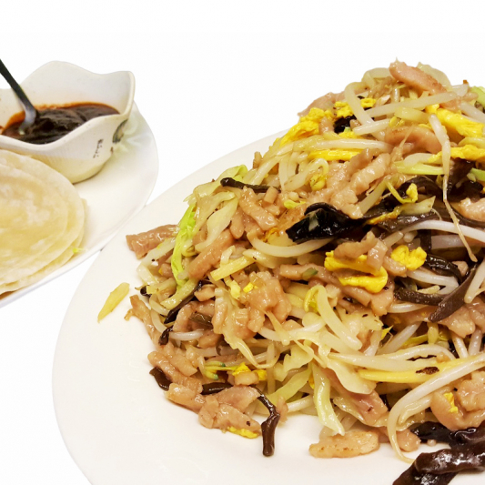 P13 Moo Shu Pork with 8 Pancakes