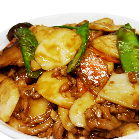 M32 Fried Home Style Rice Cake with Pork