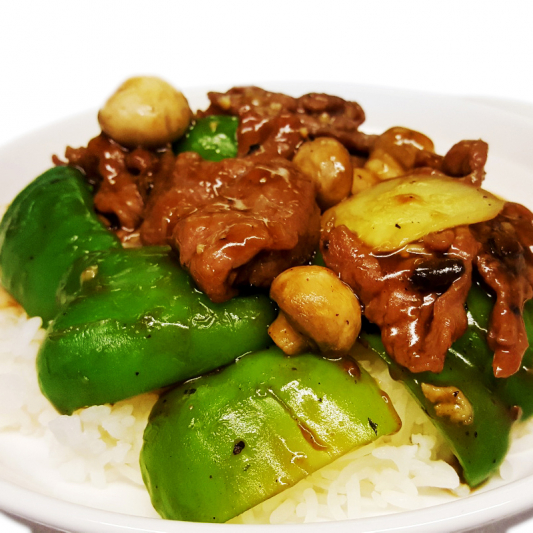 O1 Beef in Black Bean Sauce