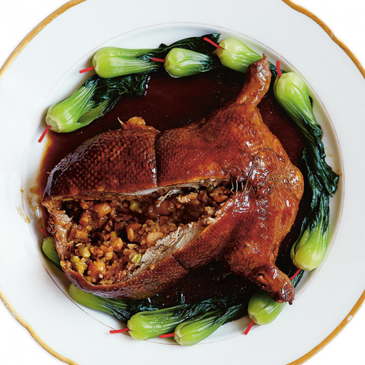 K4 Whole Stuffed Duck with Sticky Rice