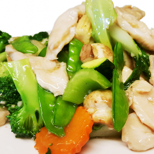 C5 Sliced Chicken with Mixed Vegetables