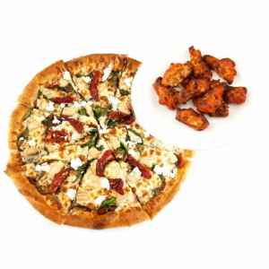 Wings & Pizza Medium