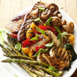 #13 Vegetarian Platter (2 pcs)