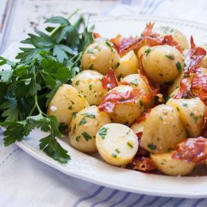 #38 On Wheels Garlic Potatoes