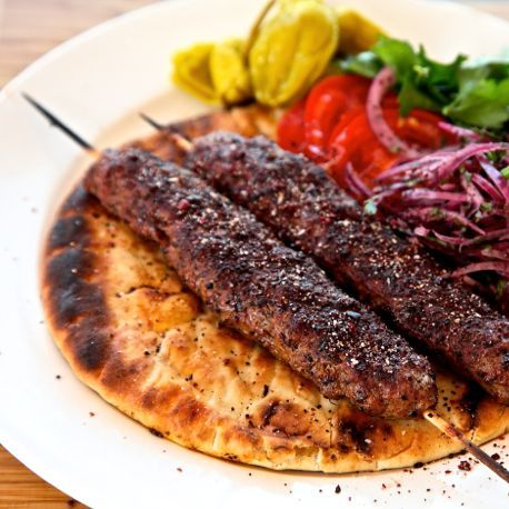 #10 Lamb Kabab Platter