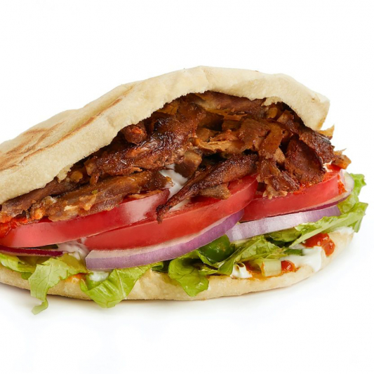 Chicken or Beef Donair Sub