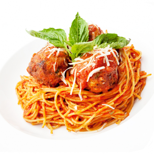 Spaghetti with Meat Balls