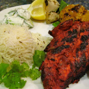 Tandoori Lunch Plate