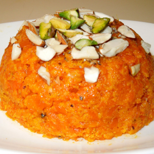 Gajrella (Carrot Pudding)