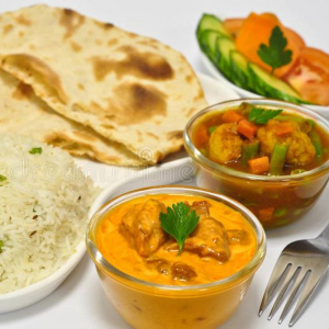 Butter Chicken Thaali