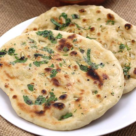 Spinach Naan (1 pc)