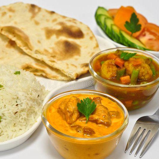 Butter Chicken Thaali