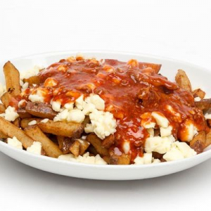 Italian Poutine with Meat Sauce