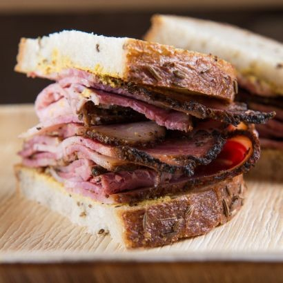 Montreal Smoked Meat Sandwich Platter