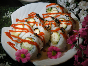 Spicy Tuna Tempura Roll