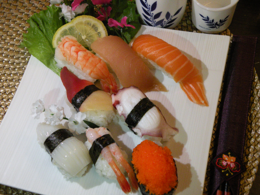 Assorted Sushi Combo