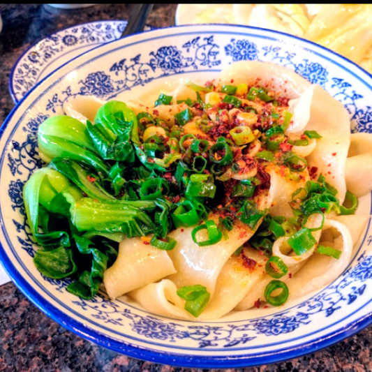 Spicy Oil Noodle with Vegetables