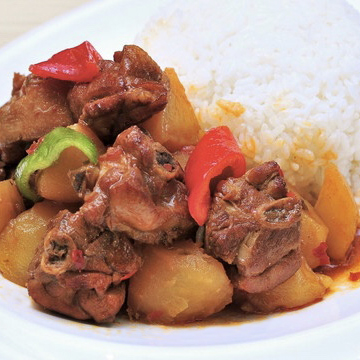 XinJiang Style Braised Chicken with Rice
