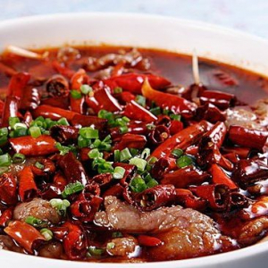 A9. Beef with Chili Oil