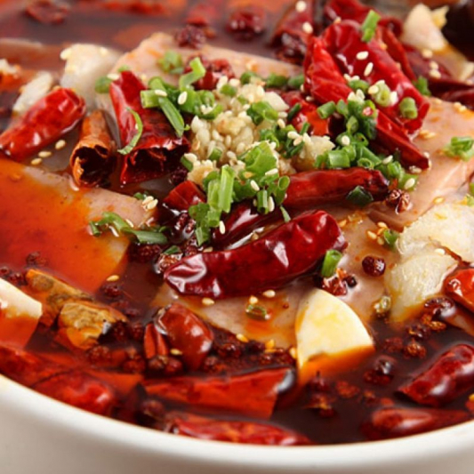 A8. Fillet Fish with Chili Oil