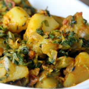 Aloo Spinach