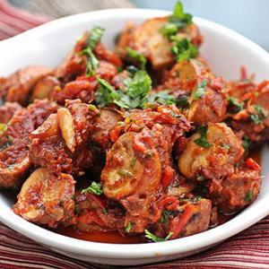 Mushroom Bhuna
