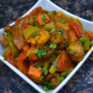 Kadhai Vegetables