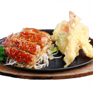 Beef Teriyaki & Tempura