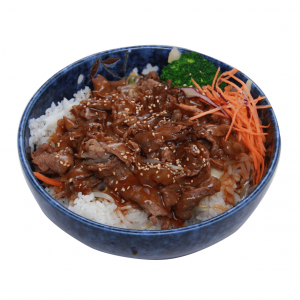 Beef Teriyaki Don