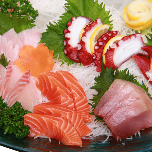 Assorted Sashimi (18 pcs)
