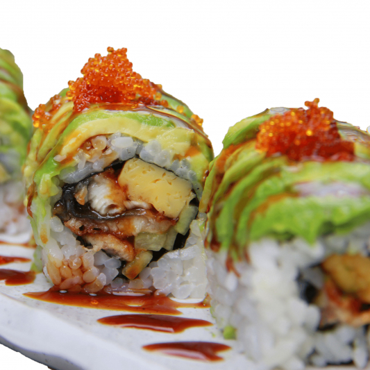 Dragon Roll (8pcs)
