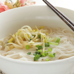 15. Plain Rice Noodle Soup
