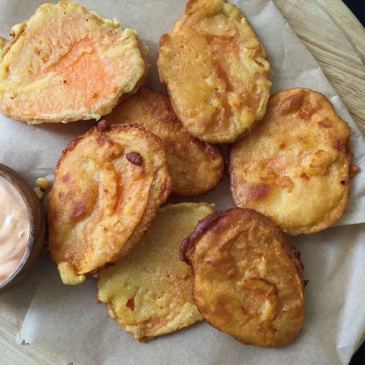 12. Sweet Potato Tempura (6 pcs)