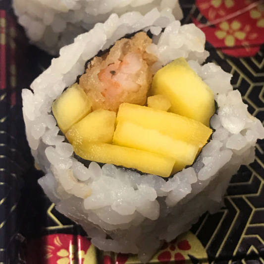 57. Tempura Shrimp/Mango