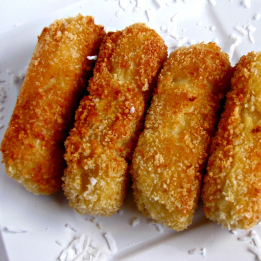 188. Deep Fried Banana (6pcs)