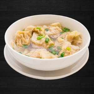 53. Wonton In Soup with Veggies