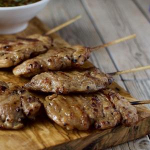 59. Grilled Minced Pork Skew (1)