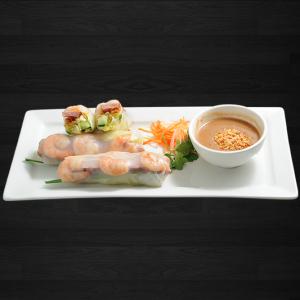 2. Shrimp Salad Rolls