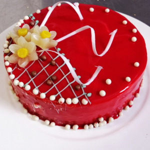 Торт Ягодное Наслаждение