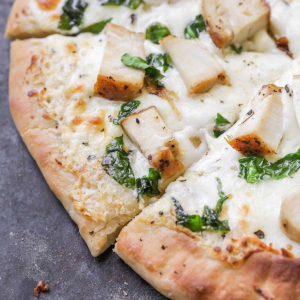 Large Alfredo Chicken Pizza