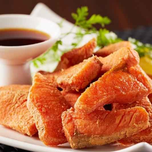 Salmon Karaage