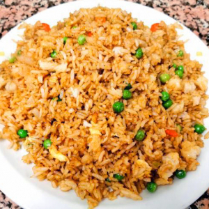 26. Plain Vegetable Fried Rice