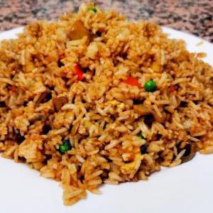 27. Mushroom Fried Rice