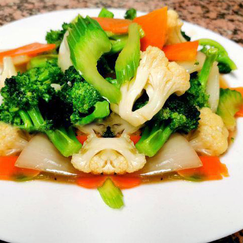 72. Mixed Vegetables (Chinese Green)