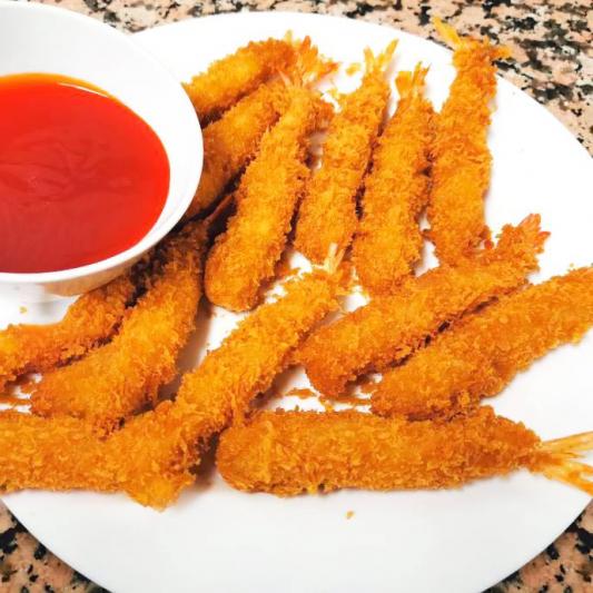 56. Sweet & Sour Breaded Shrimps