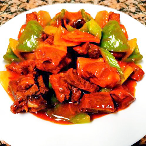 36. Plain Sweet and Sour Spare Ribs
