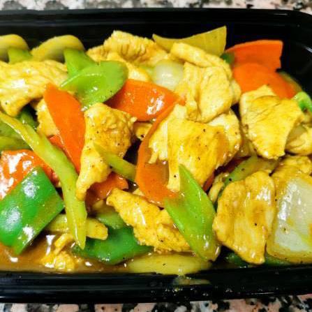 50. Curry Chicken