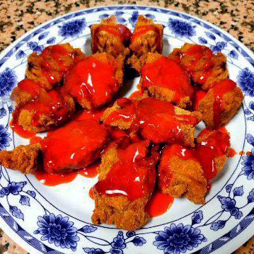 34. Sweet and Sour Breaded Spare Ribs
