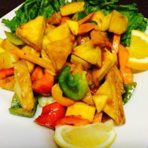 Thai Mango Tofu