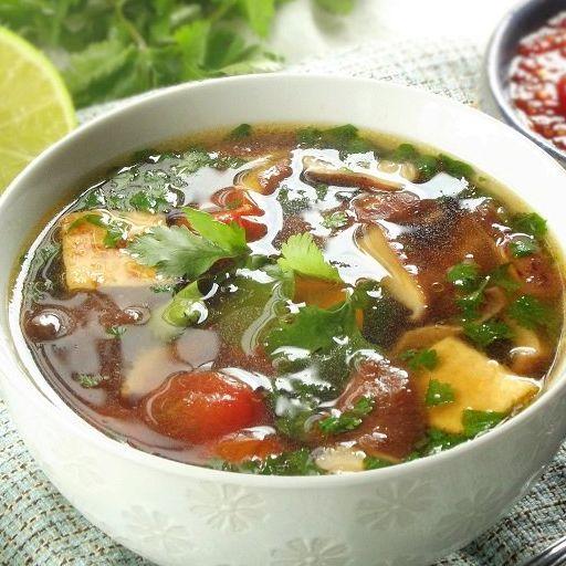 Tom Yum (Lemongrass Soup)